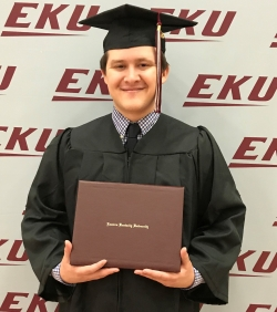 Jacob Frommeyer awarded Diane Hill Scholarship in 2020